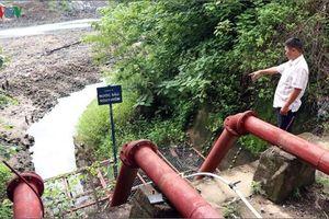 Thủy điện biến đổi dòng chảy khiến hàng trăm ha lúa bị thiếu nước