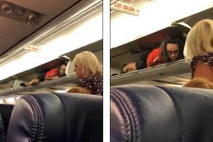 Tiếp viên hàng không hành động lạ, chui vào hộc hành lý nằm