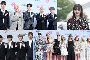 Live trực tiếp 'MGMA 2019': Goo Hye Sun áp đảo TWICE, 'hậu bối BTS' TXT đáng yêu