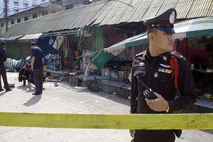 Hiện trường vụ nổ rung chuyển thủ đô Thái Lan