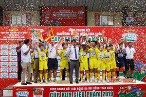 SLNA vô địch giải bóng đá Nhi đồng toàn quốc