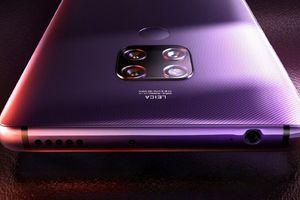 Huawei Mate 30 sẽ sở hữu tới 2 cảm biến 40MP ở mặt sau