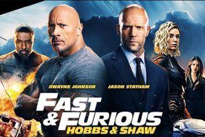 'Hobbs & Shaw' : Vẫn chưa thoát bóng phim hành động thuần giải trí