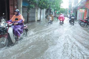 Hà Nội: Lượng mưa tại Phú Xuyên đạt 148,8mm