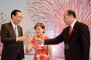 Kỷ niệm 54 năm Quốc khánh Singapore