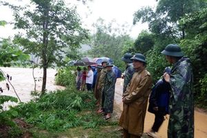 12 người dân đang mất liên lạc do ảnh hưởng của bão số 3 tại Quan Sơn - Thanh Hóa