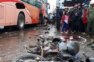 Xe khách lao vào chợ ven đường: Tang thương phủ kín xóm nhỏ Gia Lai