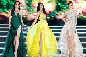 Ngắm thí sinh Miss World Việt Nam quyến rũ trong trang phục dạ hội