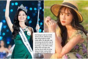Lương Thùy Linh đăng quang Hoa hậu, bạn gái Trọng Đại bất ngờ được khen ngợi vì hành động này