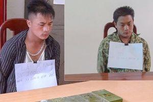 Bắt hai anh em ruột vận chuyển trái phép 6 bánh heroin từ Lào về Việt Nam bán kiếm lời