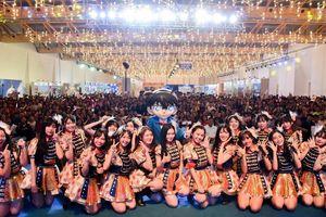 SGO48 'thất thủ' trước fan tại sự kiện giao lưu văn hóa