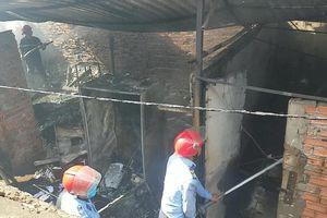 Cháy dãy nhà trọ ở quận Bình Tân, nhiều tài sản bị thiêu rụi