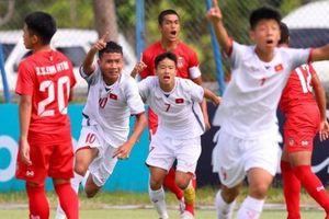 'Nhát kiếm' duy nhất giúp U15 Việt Nam lách qua khe cửa hẹp