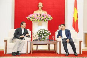 Chủ tịch UBND tỉnh Nguyễn Văn Thắng làm việc với Tập đoàn Amata