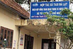 Giám đốc dùng bằng giả, HTX taxi với hàng trăm tài xế bị thu hồi giấy phép