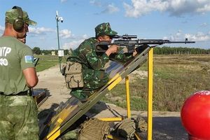 Hội thao quân sự quốc tế: Xạ thủ QĐND Việt Nam bắn trúng 19/20 bia bài thi thứ 5