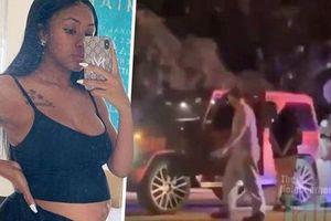 Nữ ca sĩ Mỹ bị bắn nhiều phát súng khi đang mang thai