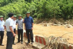 Thứ trưởng Lê Đình Thọ kiểm tra công tác khắc phục sạt lở trên các quốc lộ