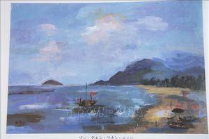 Tranh của học sinh Việt Nam được triển lãm tại Nhật Bản