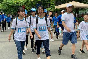 Hơn 5.000 người đã đăng ký tham gia 'Đi bộ vì sức khỏe'
