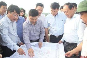 Hà Tĩnh: Dừng thi công các công trình trong phạm vi GPMB cao tốc Bắc - Nam