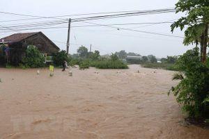 Đắk Lắk: Mưa lũ làm ngập cục bộ, giao thông tạm thời bị chia cắt