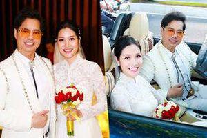 Hóa ra cô dâu giấu mặt trong bộ ảnh cưới của Ngọc Sơn chính là học trò Trương Lynh