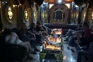 Đột kích nhà hàng ở Sài Gòn, phát hiện gần 30 dân chơi phê ma túy