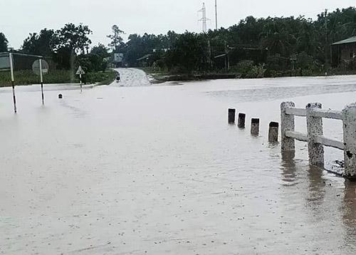 Đắk Lắk: Tiếp tục mưa lớn, nguy cơ lũ quét, sạt lở