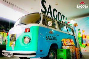Check in cùng chiếc xe mang thương hiệu Sagota