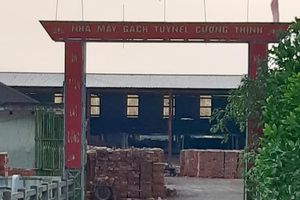 Nghệ An: Sập tường nhà máy gạch 4 người bị thương nặng