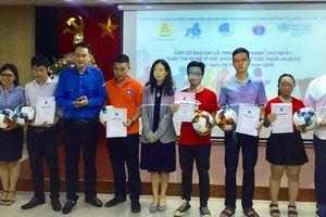 100 tập thể và cá nhân được trao giải cuộc thi 'Đi bộ vì sức khỏe - Walk for your health'