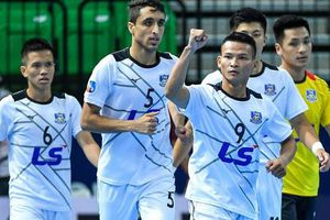 Thái Sơn Nam tiếp tục thắng đậm tại Giải Futsal CLB châu Á 2019