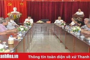 Thường trực Tỉnh ủy gặp mặt các đồng chí nguyên lãnh đạo tỉnh qua các thời kỳ