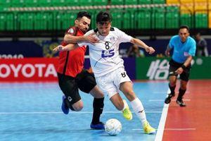 Thái Sơn Nam vươn lên dẫn đầu bảng B VCK futsal CLB châu Á 2019