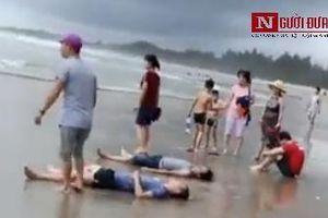 Kinh hoàng đuối nước khi tắm biển 4 người tử vong, 2 người mất tích