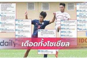 Người Thái sốc nặng khi đội nhà để thua Campuchia ở giải U18 ĐNA
