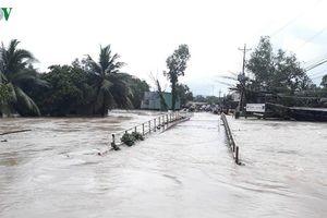 Phú Quốc ngập lụt nặng, đã sơ tán 2.000 dân đến nơi an toàn