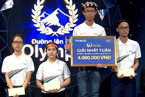 'Làm xiếc' màn về đích, 10X Tiền Giang lọt top điểm cao nhất Olympia năm 19