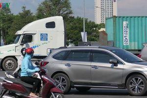 Ám ảnh xe container trên đường Ngô Quyền- Ngũ Hành Sơn, Đà Nẵng