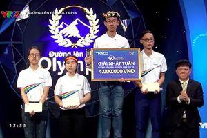 Về nhất với 400 điểm, nam sinh Tiền Giang có điểm số cao thứ 3 Olympia năm 19