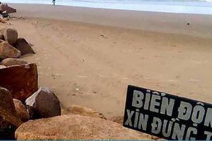 Vụ 4 người đuối nước ở Bình Thuận: Khách phớt lờ cảnh báo sóng lớn