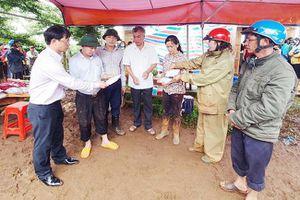 Các địa phương tập trung khắc phục hậu quả mưa lũ