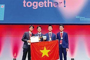 Thành tích xuất sắc của học sinh Thủ đô trên đấu trường quốc tế