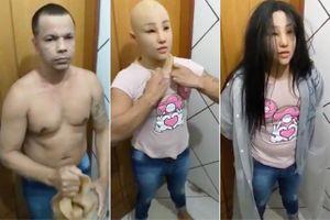 Trùm băng đảng Brazil vượt ngục bằng cách cải trang thành con gái