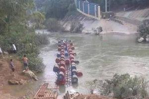 Danh tính 3 nạn nhân mất tích khi bè vượt lũ bị lật ở Cao Bằng