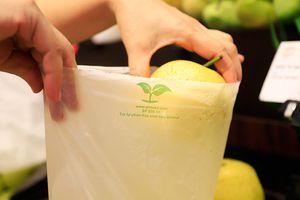 Hạn chế túi ni lông và rác thải nhựa: Chuyển động mạnh tại các siêu thị