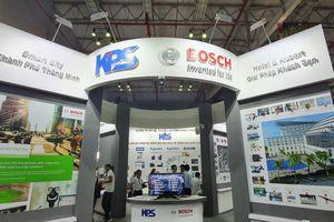 Nhiều công nghệ mới được giới thiệu tại Triển lãm quốc tế về kỹ thuật, phương tiện PCCC