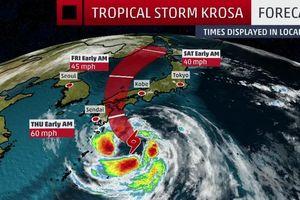 Bão lớn áp sát, Nhật Bản hủy hàng trăm chuyến bay và tàu điện cao tốc