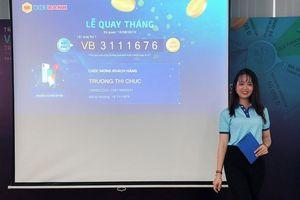 Vietbank công bố kết quả quay số tháng 8 - Mobile Banking Vietbank Digital